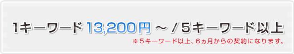 1キーワード 10,000円~ / 5キーワード以上